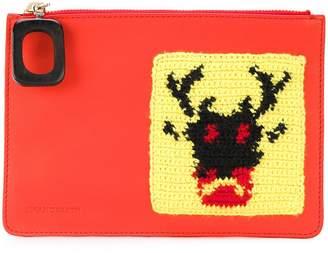 J.W.Anderson crochet patch wallet