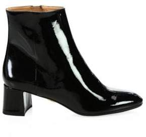 Aquazzura Grenelle Patent Leather Ankle Boots