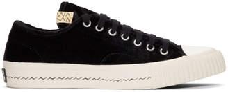 Visvim Black Velvet Skagway Sneakers