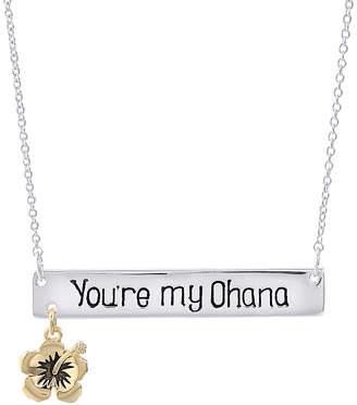 Disney Womens Lilo & Stitch Pendant Necklace