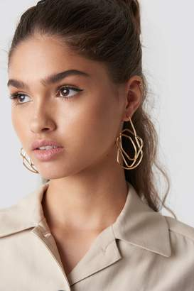 Na Kd Accessories Chaotic Lines Earrings