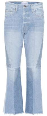 Frame Le Panel Block Crop jeans