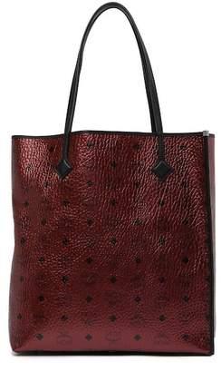 MCM Monogrammed Shopper Tote Bag