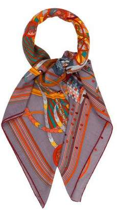 Hermes Big Bang Cashmere & Silk Shawl