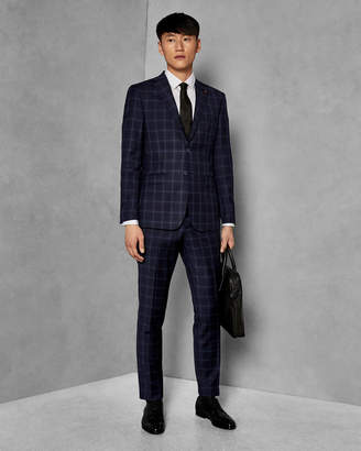 Ted Baker PROTEXT Endurance Performance check suit trousers