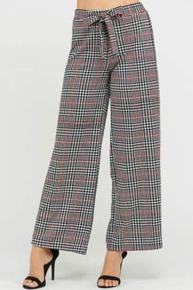 Rosette Checker Pants