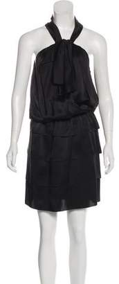 Philosophy di Alberta Ferretti Silk Knee-Length Dress