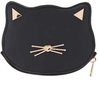 Forever 21 Faux Leather Cat Coin Purse