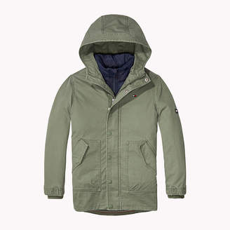 Tommy Hilfiger 2-in-1 Cotton Parka