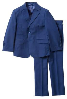 Isaac Mizrahi Solid Slim Fit Suit (Toddler Boys)