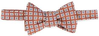 Gieves & Hawkes textured bow tie