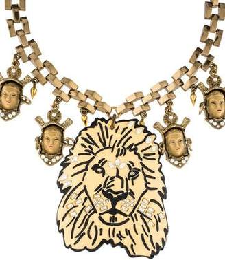 Lulu Frost Leo Collage Necklace