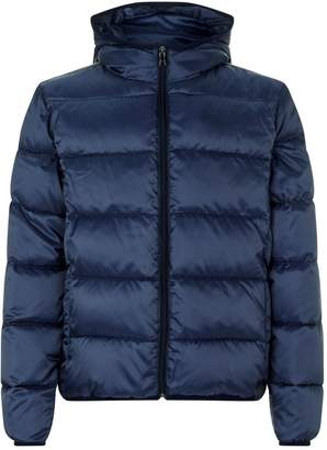 Paul & Shark Quilted Down Hooded Coat