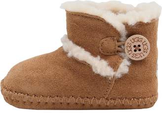 be18c54bd5fc at MandMDirect.com · UGG Baby Girls Lemmy Booties Chestnut