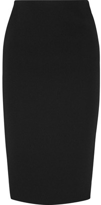 Victoria Beckham - Stretch-crepe Pencil Skirt - Black