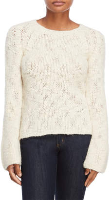 Derek Lam Bell Sleeve Wool Sweater