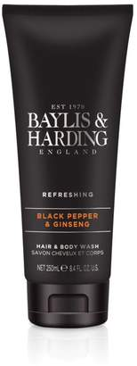 Black Pepper and Ginseng Hair & Body Wash 250ml
