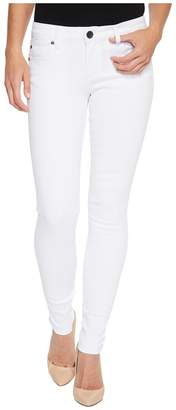 KUT from the Kloth Mia Toothpick Skinny in Optic White Women's Jeans