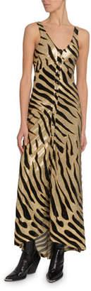 Paco Rabanne Tiger Shimmer Cami Dress