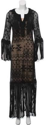 Calypso Crochet Knit Dress