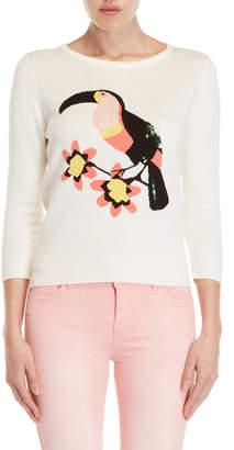 Yumi Toucan Quarter Sleeve Sweater