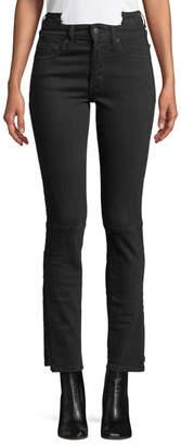 Vetements Cropped Stretch-Denim Jeans