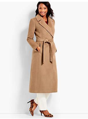 Talbots Luxe Camel Hair Coat