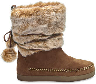 Rawhide Suede Faux Hair Women's Nepal Boots