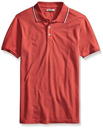 Goodthreads Mens Short-Sleeve Washed Pique Polo Shirt