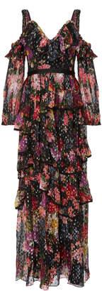 Needle & Thread Midsummer shimmer gown