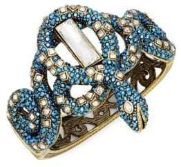 Heidi Daus Coiled Snake Pavé Crystal Cuff