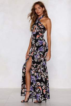 Nasty Gal Be the Flower Maxi Dress