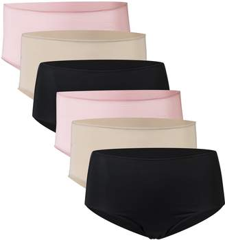 de83e5863d20 Gildan Women's Microfiber Brief Panties, 6 Pairs, ...
