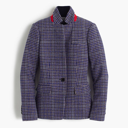 J.CrewRegent blazer in purple houndstooth