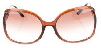 Versace Polarized Oversize Sunglasses