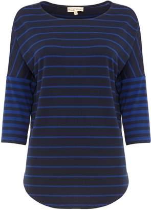 Next Womens Phase Eight Blue Careen Stripe Top