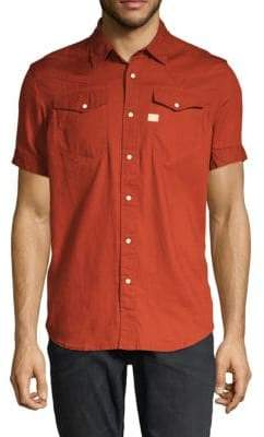 G Star Short-Sleeve Button-Down Shirt