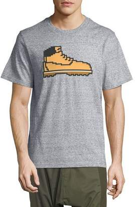 Mostly Heard Rarely Seen 8-Bit Hiking Boot T-Shirt