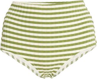 Solid & Striped Ginger Striped Bikini Briefs
