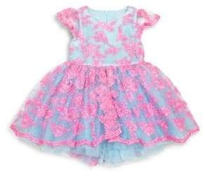 Couture Tutu Toddler's& Little Girl's Embroidered Lace Tutu Dress