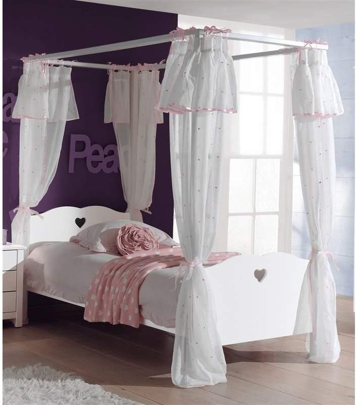 autres lit baldaquin romantique pour fille amori de vipack aiment france. Black Bedroom Furniture Sets. Home Design Ideas