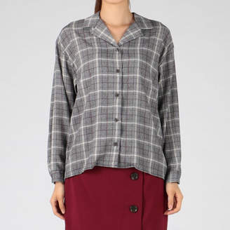 INGNI (イング) - INGNI オープンカラートロミ長袖シャツ