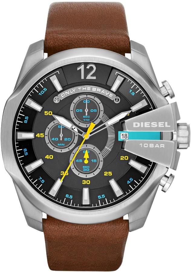 DieselDiesel Men's Mega Chief Quartz Watch