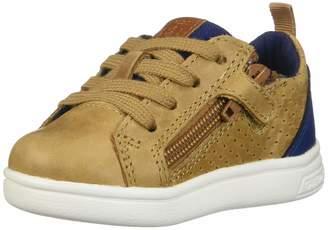 Geox Boy's Djrock A Waxed Leather Shoe