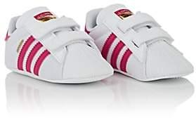 adidas Kids' Superstar Crib Sneakers - White