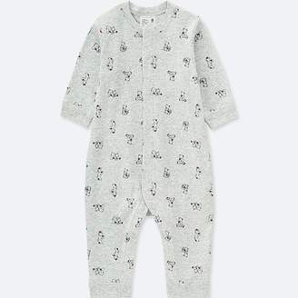 Uniqlo Baby Long-sleeve One-piece Outfit