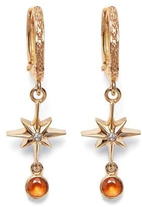 Lucky Star MARLO LAZ Diamond & Sapphire Earrings