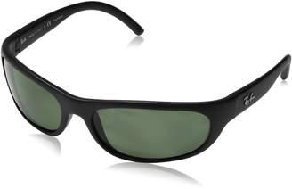 Ray-Ban Green Rectangular Sunglasses RB4033 601S48 60