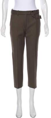 3.1 Phillip Lim Wool Mid-Rise Straight-Leg Pants