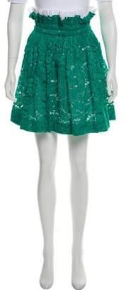 No.21 No. 21 Lace Knee-Length Skirt